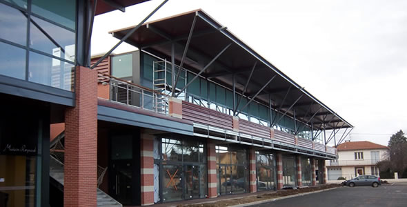 L2c espace polyvalent petit capitole pour la mairie de - Centre commercial colomiers ...